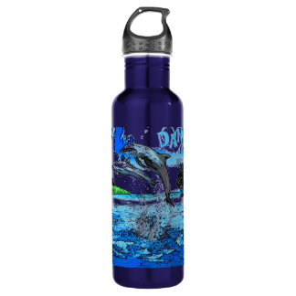 Dancing with Dolphins Water Bottle