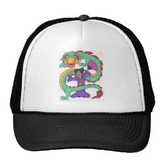 Dancing with Dragons Trucker Hat