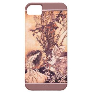 Dancing with Fairies Arthur Rackham Illustration iPhone 5 Covers