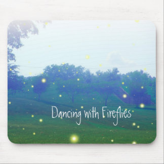 Dancing with Fireflies Mouse Pad