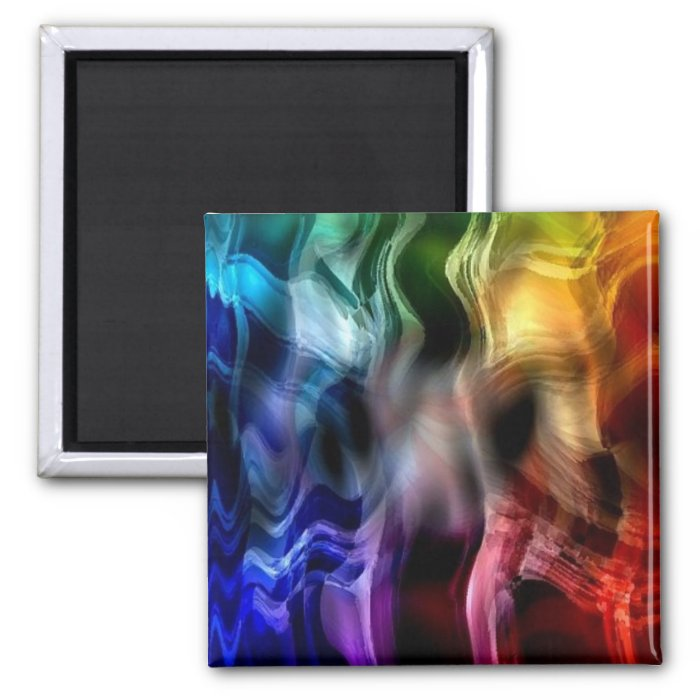 Dancing with Mephisto 2 Inch Square Magnet