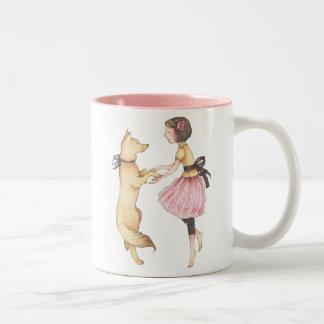 """""""Dancing with My Dog"""" Mug"""