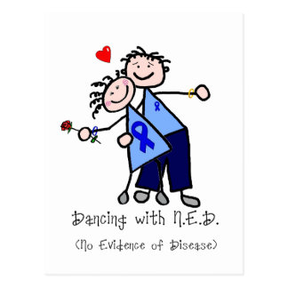 Dancing with N.E.D. - Blue Ribbon Postcard