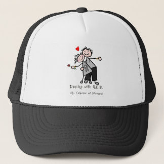 Dancing with N.E.D. - Brain Cancer / Tumor Trucker Hat