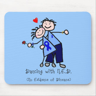 Dancing with N.E.D. - Colon Cancer Mouse Pad