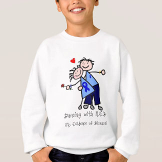 Dancing with N.E.D. - Colon Cancer Sweatshirt