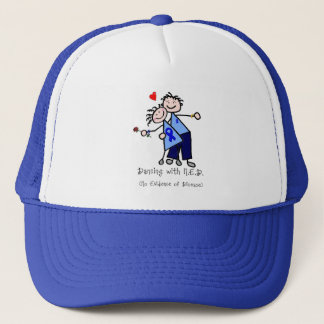 Dancing with N.E.D. - Colon Cancer Trucker Hat