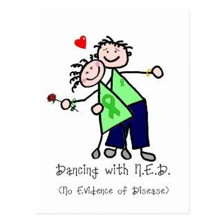 Dancing with N.E.D. - Green Ribbon Postcard