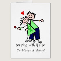 Dancing with N.E.D. - Kidney Cancer Card