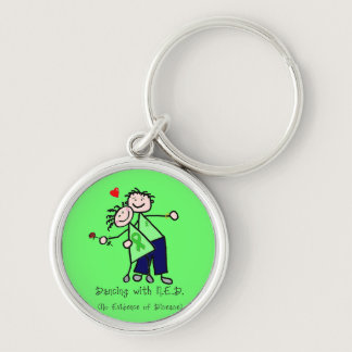 Dancing with N.E.D. - Kidney Cancer Keychain