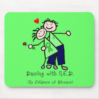 Dancing with N.E.D. - Kidney Cancer Mouse Pad