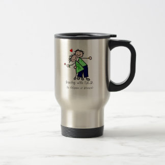 Dancing with N.E.D. - Kidney Cancer Travel Mug