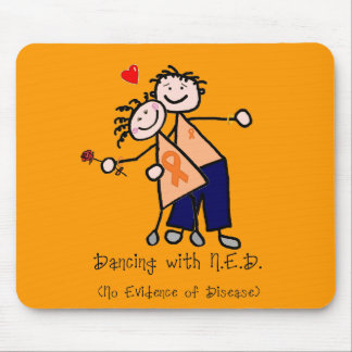Dancing with N.E.D. - Leukemia Mouse Pad