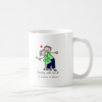 Dancing with N.E.D. - Liver Cancer Coffee Mug