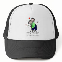 Dancing with N.E.D. - Liver Cancer Trucker Hat