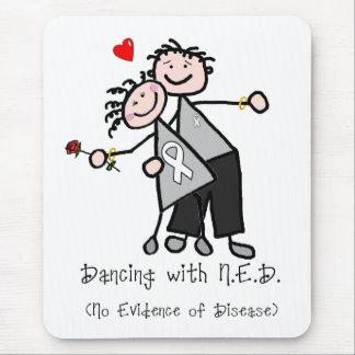 Dancing with N.E.D. - Lung Cancer Mouse Pad