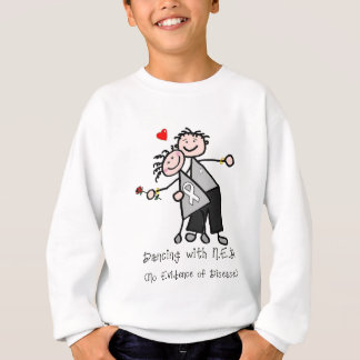 Dancing with N.E.D. - Lung Cancer Sweatshirt