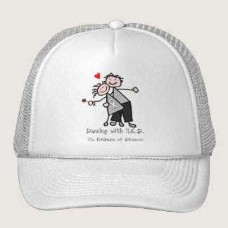 Dancing with N.E.D. - Lung Cancer Trucker Hat
