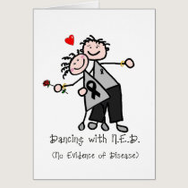 Dancing with N.E.D. - Melanoma Card