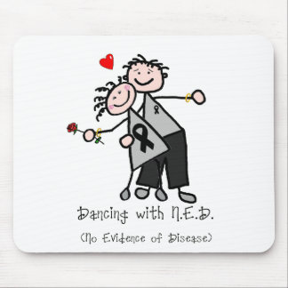 Dancing with N.E.D. - Melanoma Mouse Pad
