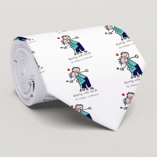 Dancing with N.E.D. Ovarian Cancer Tie