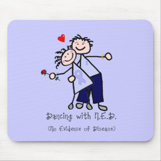 Dancing with N.E.D. - Stomach Cancer Mouse Pad