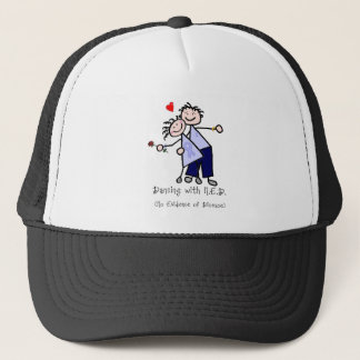 Dancing with N.E.D. - Stomach Cancer Trucker Hat