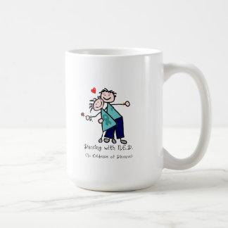 Dancing with N.E.D. Uterine Cancer Coffee Mug