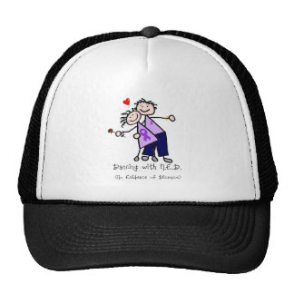 Dancing with N.E.D. - Violet Ribbon Trucker Hat