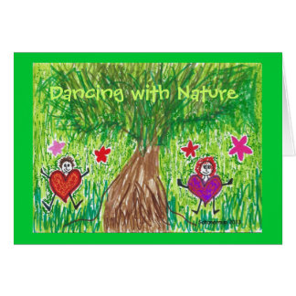 Dancing with Nature Cards