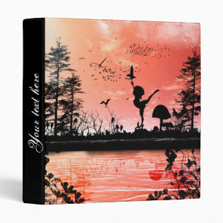 Dancing with the birds in the sunset binder