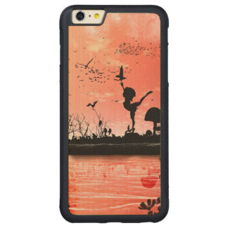 Dancing with the birds in the sunset carved® maple iPhone 6 plus bumper case
