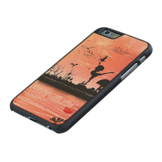 Dancing with the birds in the sunset carved® maple iPhone 6 slim case