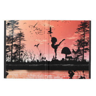 Dancing with the birds in the sunset powis iPad air 2 case