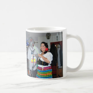 dancing with the dead classic white coffee mug
