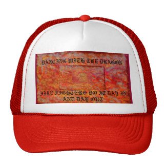 DANCING WITH THE DRAGON TRUCKER HAT
