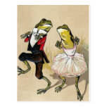 Dancing With the Frogs Post Cards