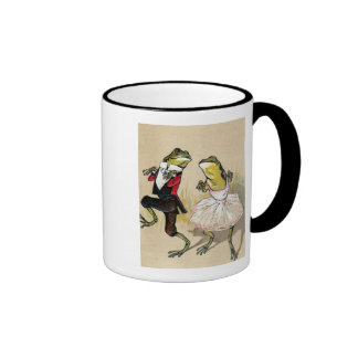 Dancing With the Frogs Ringer Mug