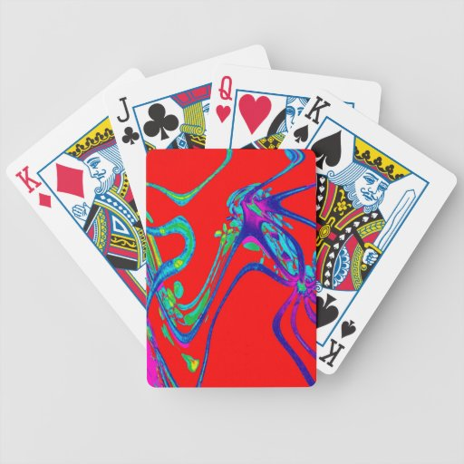 DANCING WITH THE ROSES BICYCLE PLAYING CARDS