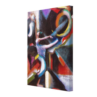 Dancing With The Wind on Wrapped Canvas Canvas Prints