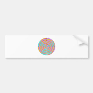 Dancing with Waves Bumper Sticker
