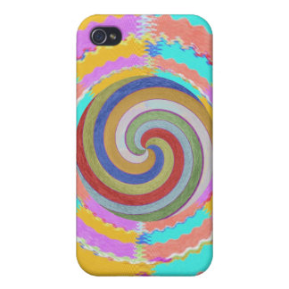 Dancing with Waves iPhone 4 Cases