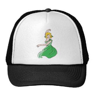 Dancing Woman Mesh Hat