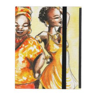 Dancing women iPad case