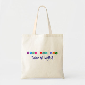Dancing Writer sustainability tote