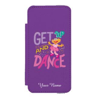 Dancing Zoe Wallet Case For iPhone SE/5/5s
