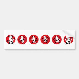 DancingCow10 Bumper Sticker