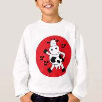 DancingCow11 Sweatshirt