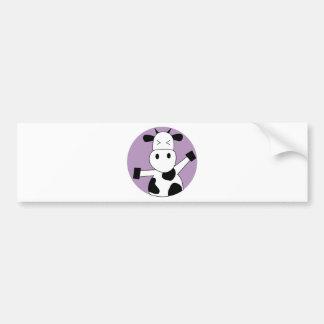 DancingCow5 Bumper Sticker