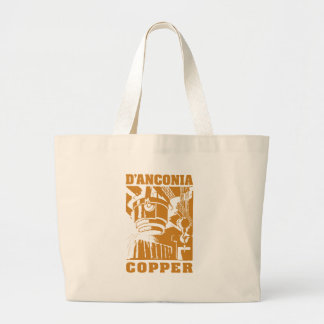 d'Anconia Copper / Copper Logo Tote Bags